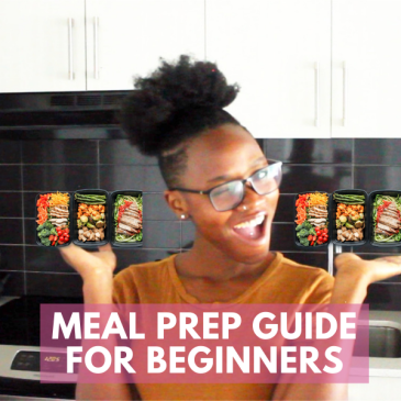 Meal prep guide for beginners